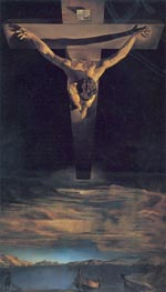 Christ of Saint John of the Cross, 1951 by Dali | Painting Reproduction