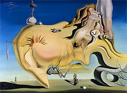 The Great Masturbator, 1929 by Dali | Painting Reproduction