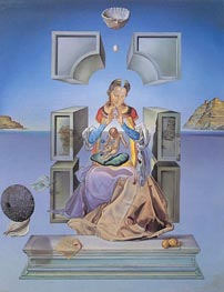 The Madonna of Port Lligat, 1949 von Dali | Gemälde-Reproduktion