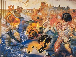 Tuna Fishing, c.1966/67 by Dali | Painting Reproduction