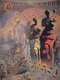 The Hallucinogenic Toreador, c.1968/70 by Dali | Painting Reproduction