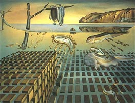 The Disintegration of Persistence of Memory, c.1952/54 von Dali | Gemälde-Reproduktion
