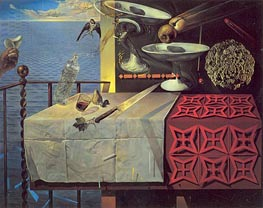 Still Life, Fast Moving, Nature Morte Vivante | Dali | Painting Reproduction