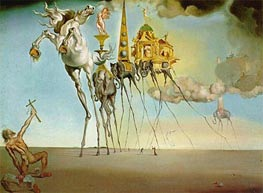 The Temptation of Saint Anthony | Dali | Painting Reproduction
