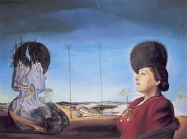 Portrait of Mrs. Isabel Styler Tas | Dali | Painting Reproduction
