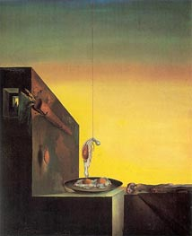 Eggs on the Plate Without the Plate, 1932 by Dali | Painting Reproduction