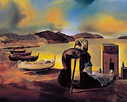 Weaning of Furniture Nutrition, 1934 by Dali | Painting Reproduction