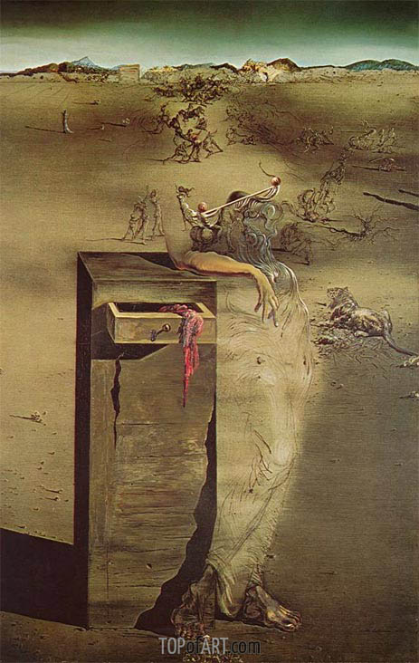 Spain, 1938 | Dali | Painting Reproduction