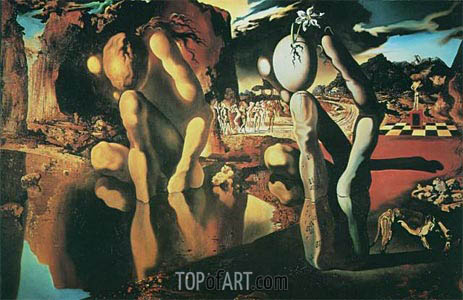 The Metamorphosis of Narcissus, 1937 | Dali | Painting Reproduction