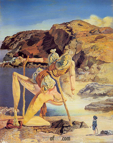 The Specter of Sex Appeal, 1934 | Dali | Painting Reproduction