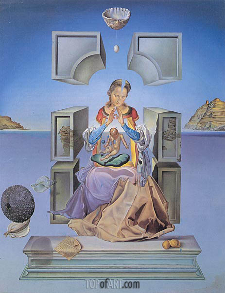 The Madonna of Port Lligat, 1949 | Dali | Painting Reproduction