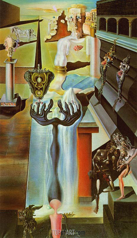 The Invisible Man, 1929 | Dali | Painting Reproduction