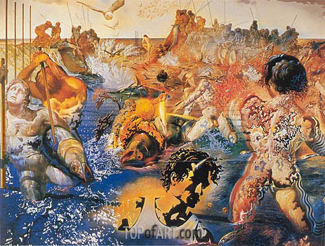 Tuna Fishing, c.1966/67 | Dali | Painting Reproduction