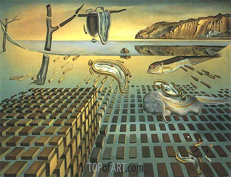 The Disintegration of Persistence of Memory, c.1952/54 | Dali | Painting Reproduction