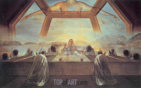 The Sacrament of the Last Supper, 1955 | Dali | Painting Reproduction