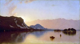Isola Bella in Lago Maggiore, 1871 by Sanford Robinson Gifford | Painting Reproduction