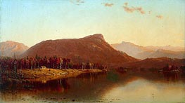 A Home in the Wilderness | Sanford Robinson Gifford | Painting Reproduction