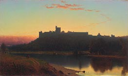 Windsor Castle, 1860 by Sanford Robinson Gifford | Painting Reproduction