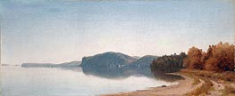 Hook Mountain, Near Nyack, on the Hudson, 1866 by Sanford Robinson Gifford | Painting Reproduction