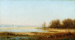 Marshes of the Hudson | Sanford Robinson Gifford | Gemälde Reproduktion