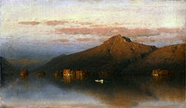 Whiteface Mountain from Lake Placid, 1866 by Sanford Robinson Gifford | Painting Reproduction