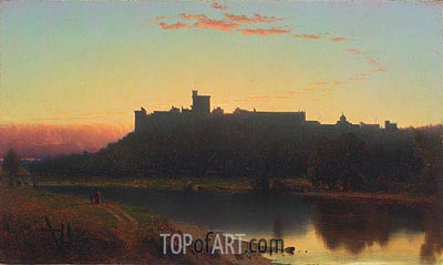 Windsor Castle, 1860 | Sanford Robinson Gifford | Painting Reproduction