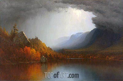 A Coming Storm, 1863 | Sanford Robinson Gifford | Painting Reproduction