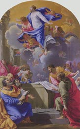 Assumption of the Virgin | Simon Vouet | Gemälde Reproduktion
