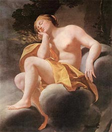 Sleeping Venus, c.1630/40 by Simon Vouet | Painting Reproduction