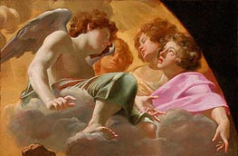 Model for Altarpiece in St. Peter's | Simon Vouet | Painting Reproduction