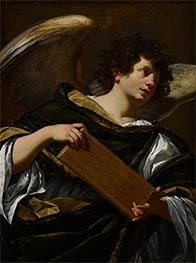 The Superscription from the Cross | Simon Vouet | Painting Reproduction
