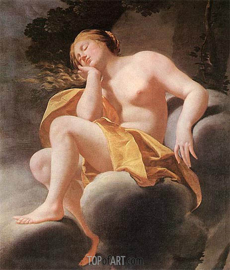 Sleeping Venus, c.1630/40 | Simon Vouet | Painting Reproduction