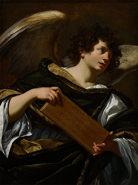 The Superscription from the Cross, 1627   Simon Vouet   Painting Reproduction
