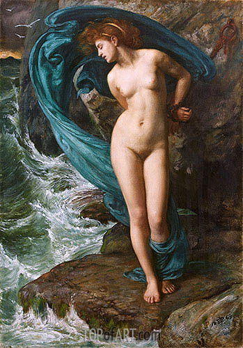 Andromeda, 1869 | Poynter | Painting Reproduction