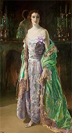 The Green Coat, 1926 by Sir John Lavery | Painting Reproduction
