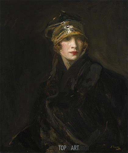 The Gold Turban, 1929 | Sir John Lavery | Painting Reproduction