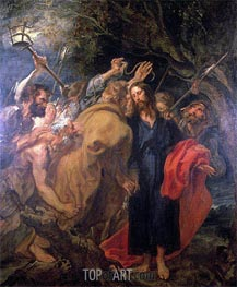 The Arrest of Christ, c.1620 by van Dyck | Painting Reproduction