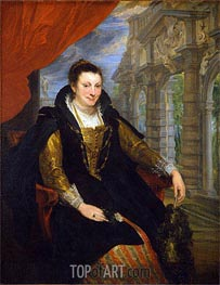 Isabella Brant, 1621 by van Dyck | Painting Reproduction