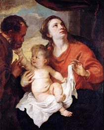 Holy Family | van Dyck | Painting Reproduction