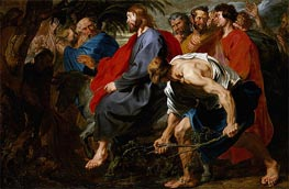 Entry of Christ into Jerusalem | van Dyck | Painting Reproduction