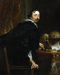 Portrait of Lucas van Uffel | van Dyck | Painting Reproduction