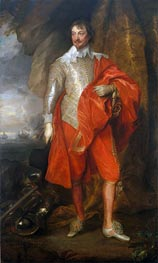 Robert Rich, Second Earl of Warwick | van Dyck | Painting Reproduction