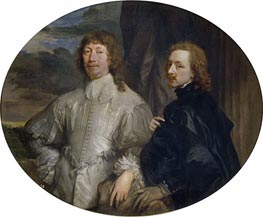 Endymion Porter and Anthony van Dyck | van Dyck | Painting Reproduction