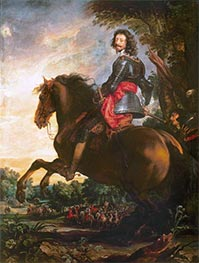 The Duke of Arenberg, b.1641 by van Dyck | Painting Reproduction