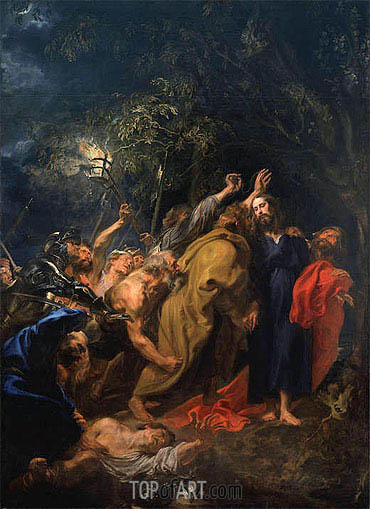The Arrest of Christ, c.1628/30 | van Dyck | Gemälde Reproduktion
