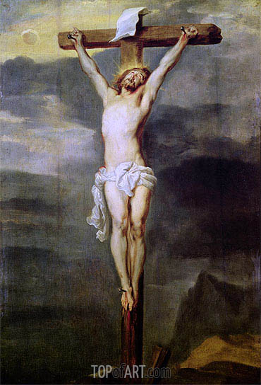 Christ on the Cross, 1627 | van Dyck | Painting Reproduction