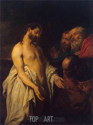 Appearance of Christ to his Disciples, c.1625/26 | van Dyck | Gemälde Reproduktion