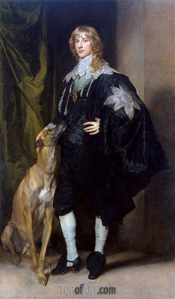 James Stuart, Duke of Richmond and Lennox, c.1634/35 | van Dyck | Painting Reproduction