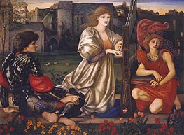 Le Chant d'Amour (The Love Song), c.1868/77 by Burne-Jones | Painting Reproduction