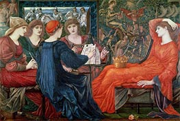 Laus Veneris, 1868 by Burne-Jones | Painting Reproduction